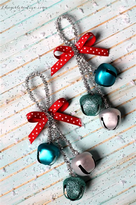 jingle bells christmas ornaments the girl creative