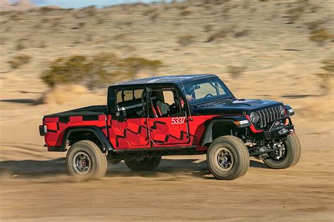 2020 Jeep Gladiator Goes For The Win In King Of The