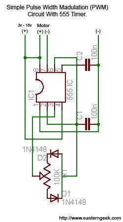simple  dirty pulse width modulation pwm
