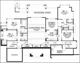 alan mascord house plans one story floor plans with basements