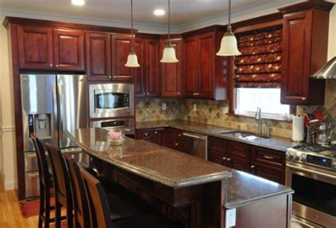10x10 kitchen cabinets with island choosing dark maple kitchen cabinets modern kitchens