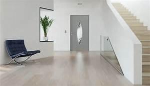 Porte Interieur Grise : porte d 39 entree aluminium e design ~ Mglfilm.com Idées de Décoration