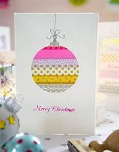 Weihnachtskugeln Selbst Gestalten : weihnachtskugel weihnachtskarten selber basteln ~ Lizthompson.info Haus und Dekorationen
