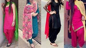 Daily wear cotton Punjabi suit designs/Punjabi suit designs for college/Simple patiala kurta