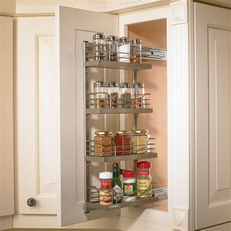 Kitchen Cabinet Pull Out Spice Rack by Hafele Kessebohmer Spice Rack Pull Out Frame 543 34 930