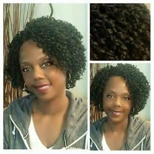 Soft Dread Crochet Braids with Hair