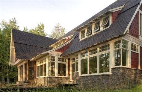superior setting cottage exterior craftsman style