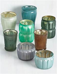 sea glass votive candle holder sea glass cottage 28 With kitchen cabinets lowes with floating votive candle holders