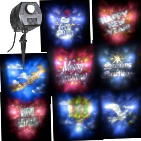 christmas light projector home depot lightshow holiday outdoor projector 88289 the home depot