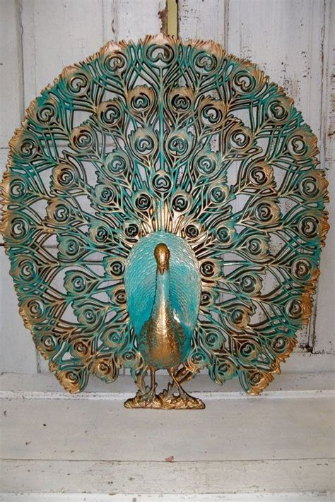 Today, the company is led by presidents evan merkur and michael siegel backed by a team of experienced designers and import specialists located in the united states and asia. Large peacock wall decor mid century hand by AnitaSperoDesign, $150.00   Peacock art, Peacock ...
