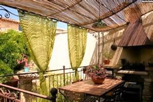 balkon sichtschutz ideen deko ideen für balkon und terrasse bedeckt sichtschutz