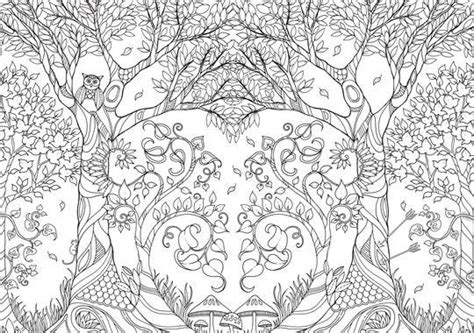 whimsical coloring books for grown ups are a hit