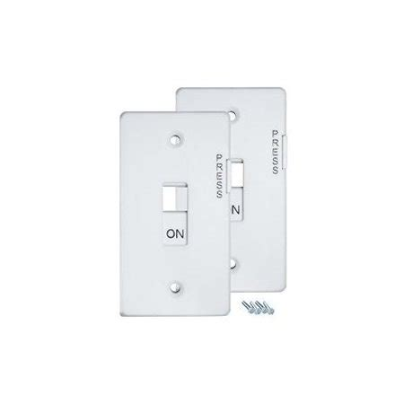 lockable light switch cover e lock switch guard light switch cover pack white