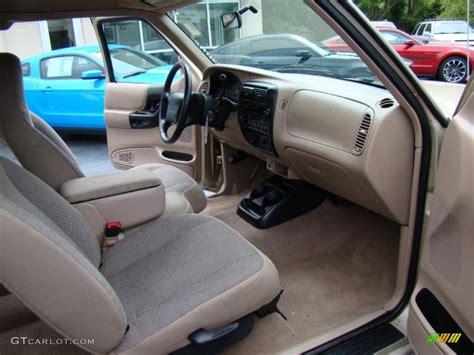 medium prairie tan interior  ford ranger xlt supercab
