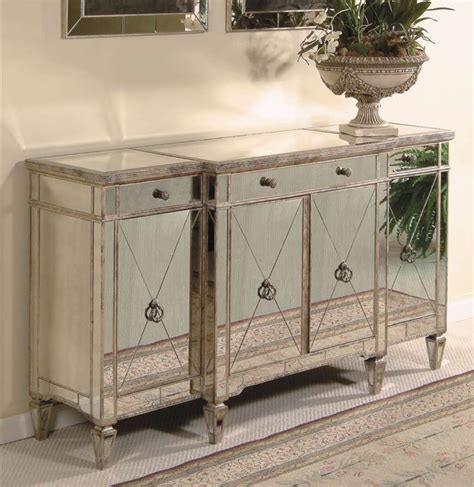 Buffet Console by Horchow Mirrored Buffet Console Copycatchic