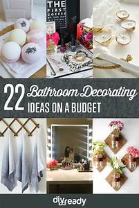 diy bathroom decorating ideas shamco property management With how to decorate a bathroom on a budget