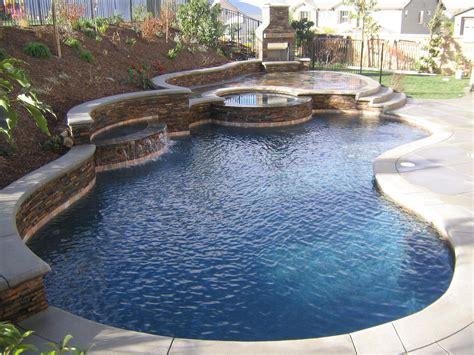 beautiful backyard pools   home design accessories