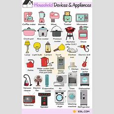 Household Appliances Useful Home Appliances List With Pictures  7 E S L