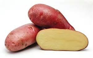 rode aardappel