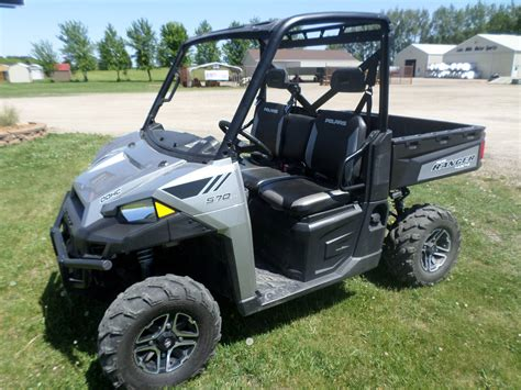 2015 Polaris Ranger 570 Eps Full-size For Sale Lake Mills