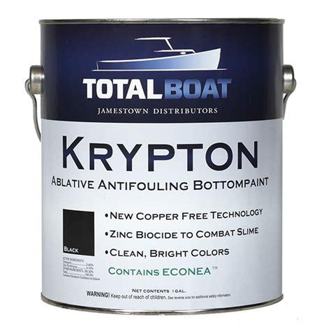 Aluminium Boat Antifouling Paint by Totalboat Krypton Boat Bottom Paint Copper Free Antifouling