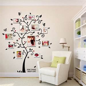 Cm in d diy removable photo tree pvc wall