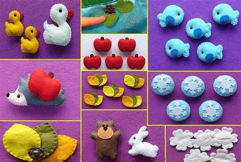 Развивающие игрушки из фетра видео