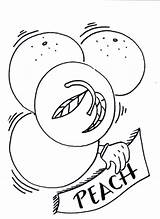 Peaches Coloring Pages Lifeguard Fantasy Painting sketch template