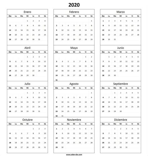 calendario en blanco imprimir monthly planner
