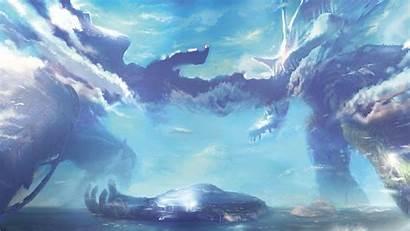 Xenoblade Chronicles Wallpapers Landscape Clouds Desktop Backgrounds