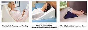 10 best bed wedge pillows for neck and back support With benefits of sleeping on a wedge pillow