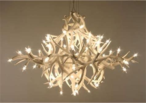 large antler chandelier by jason miller