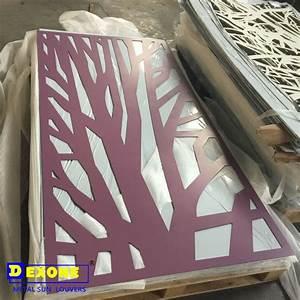 Panneau Perforé Décoratif : aluminium perfor panneau d coratif pour cran de cl ture ~ Preciouscoupons.com Idées de Décoration
