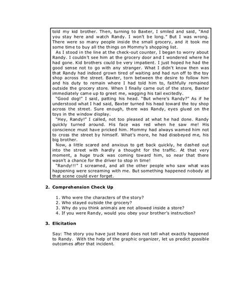 grade  english analyze ideas     happen