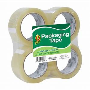 Duck Standard Packing Tape  1 88 In  X 100 Yd   Clear  4