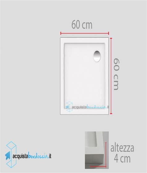 Piatti Doccia 60x60 by Vendita Piatto Doccia 60x60 Cm Altezza 4 Cm