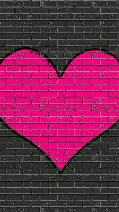 Heart Phone Iphone Hearts Pink Wallpapers Backgrounds