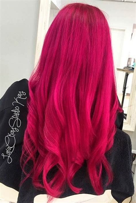 21 Loveliest Magenta Hair Color Ideas Hair Color