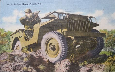 Willys Ma Postcard From Camp Picket On Ebay Ewillys