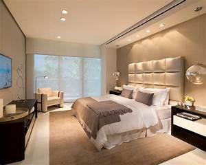 Bedroom: Elegant Master Bedroom Plans With Beige Bedding