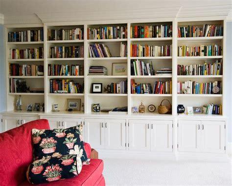 Full Wall Bookcase