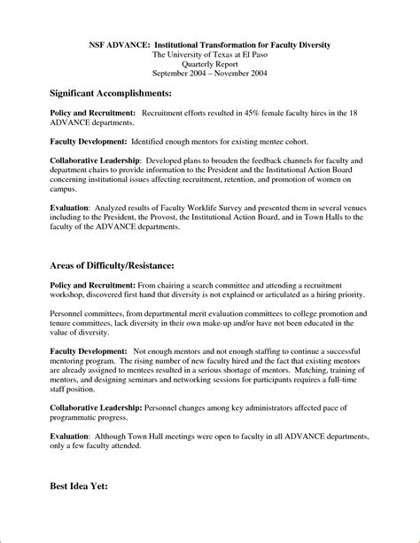 professional report bookletemplateorg
