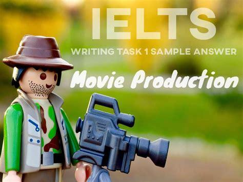 ielts writing task  sample answer  production bar chart    ielts