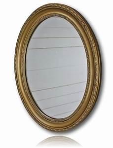 Spiegel Oval Antik : wandspiegel gold antik oval ~ Frokenaadalensverden.com Haus und Dekorationen