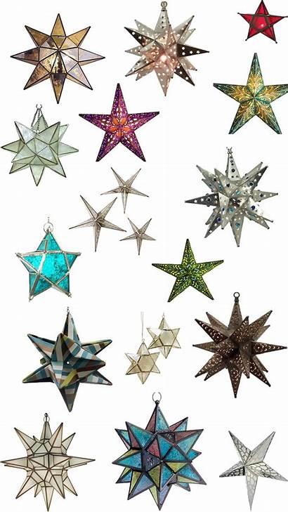Star Mexican Lights Pendant Moravian Stars Tin