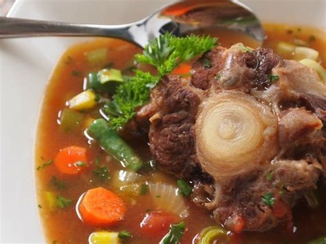 oxtail soup cook an oxtail soup visihow