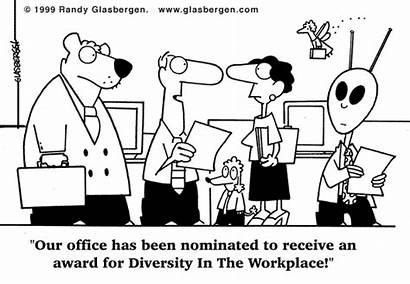 Diversity Education Workplace Cultural Funny Humor Cartoon