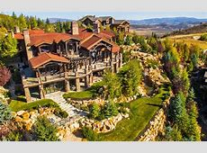 $113 Million 14,000 Square Foot Mountaintop Mansion In
