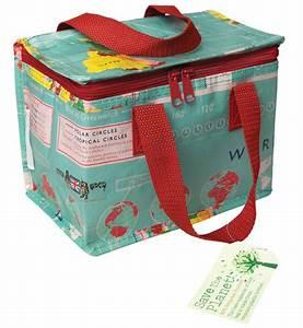 Lunch Bag Isotherme : recycled lunch bag world map natural collection select ~ Teatrodelosmanantiales.com Idées de Décoration