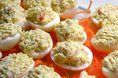 jajek farsz jajka faszerowane crab stevendepolo deviled eggs przekski pomysow pyszn potraw wielkanocn